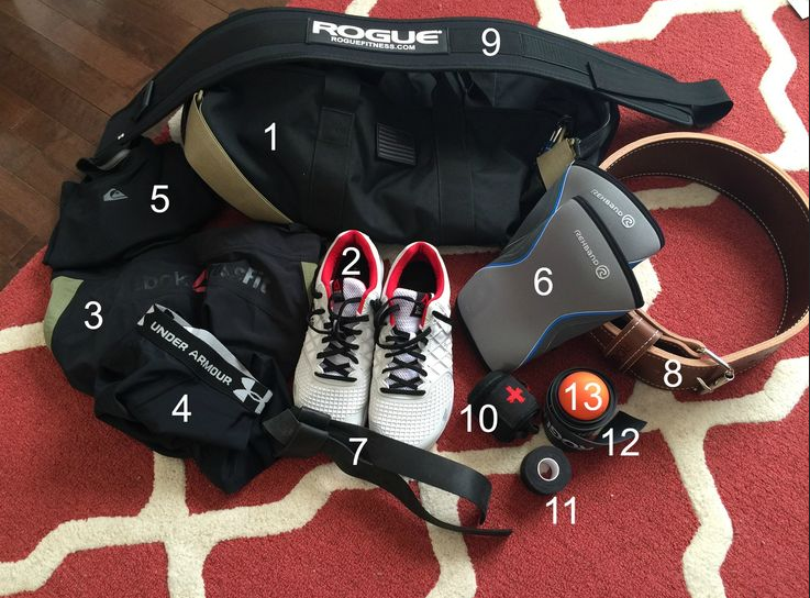 CROSSFIT GYM BAG EQUIPMENT