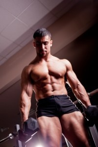 muscle man overtrained