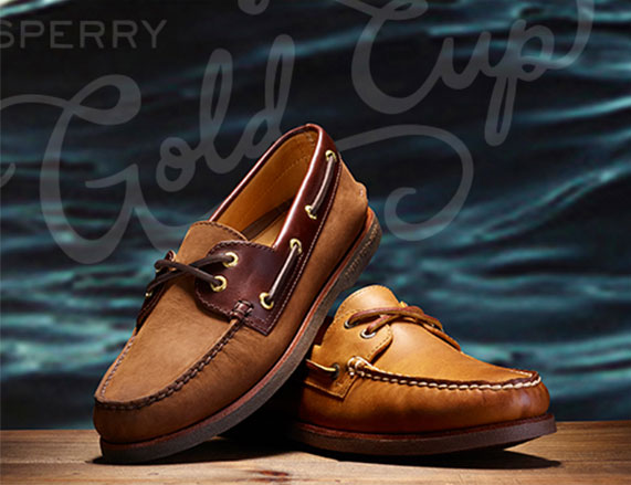 sperry boat shoes for men - brown